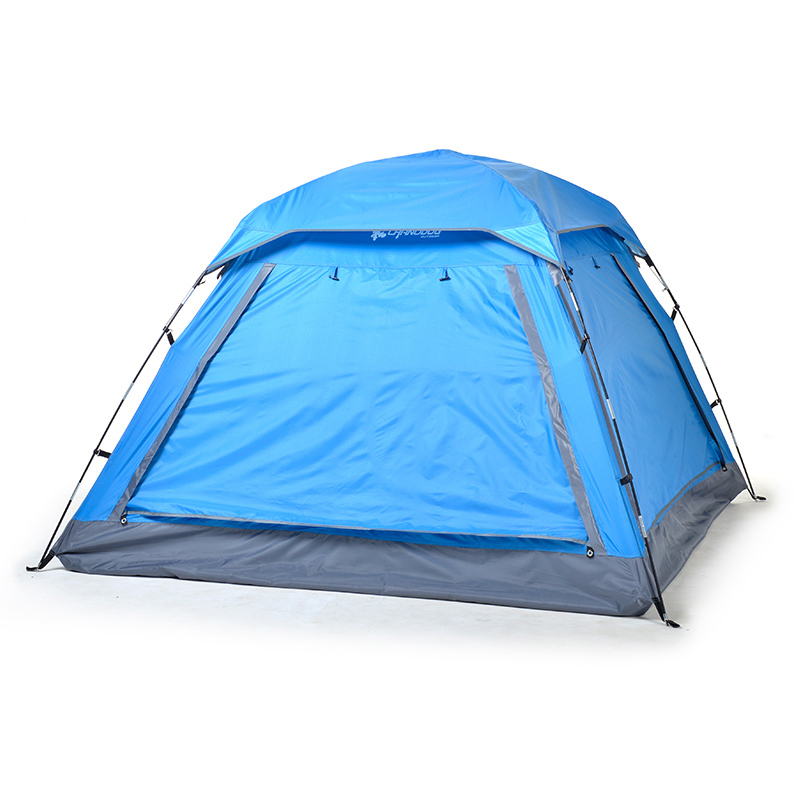 Outdoor 3-4 Person Outdoor Camping Tent 210*210*135cm Automatic/Manual Tents 210D PU Waterproof Windproof Hiking Picnic Tents 3 4 person automatic 4 seasons ultralarge high quality waterproof windproof camping family tent