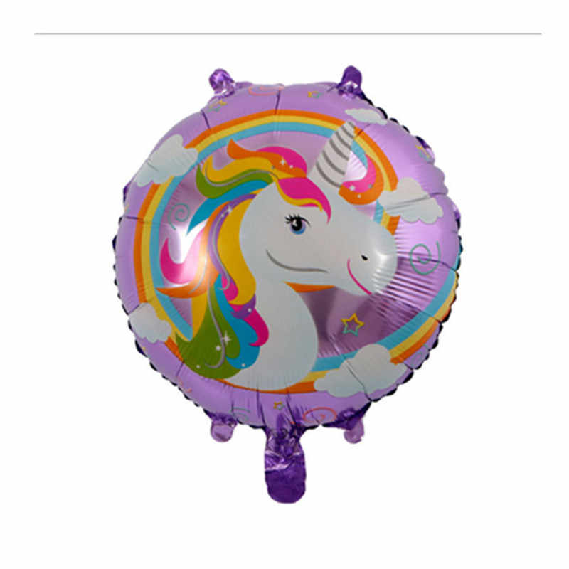 1Pcs ยักษ์ลูกโป่ง Inflatable Rainbow บอลลูนสัตว์เด็กทารกอาบน้ำของเล่น Unicorn Party อุปกรณ์ตกแต่งมิถุนายน 9