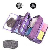 Органайзер для бюстгальтера, нижнего белья, дорожная сумка для хранения, разделители ящиков, коробка для носков, переносные трусы, чехол для одежды, аксессуары для шкафа