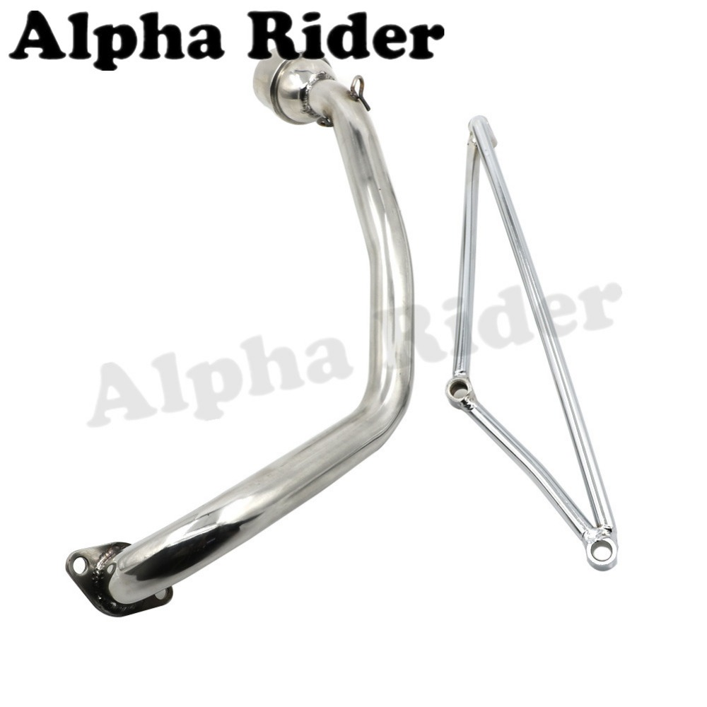 HOT SALE] Stainless Steel GP Exhaust Muffler System Header