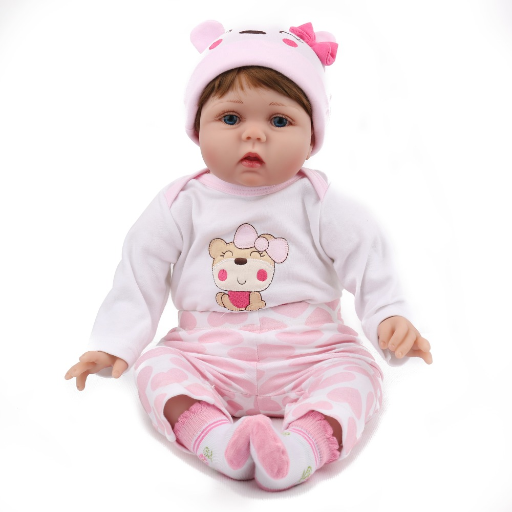 2255cm Reborn silicone Baby Doll Lifelike vinyl Newborn Princess doll Babies Real Looking  bebe  Boneca Kids Birthday Gift toys2255cm Reborn silicone Baby Doll Lifelike vinyl Newborn Princess doll Babies Real Looking  bebe  Boneca Kids Birthday Gift toys