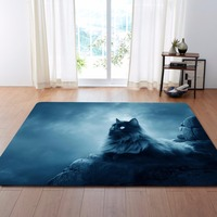 Nordic Large 3D Carpets Lovely Cats Rug Bedroom Kids Room Play Mat Memory Foam Area Rugs Carpet for Living Room Home Decorative
