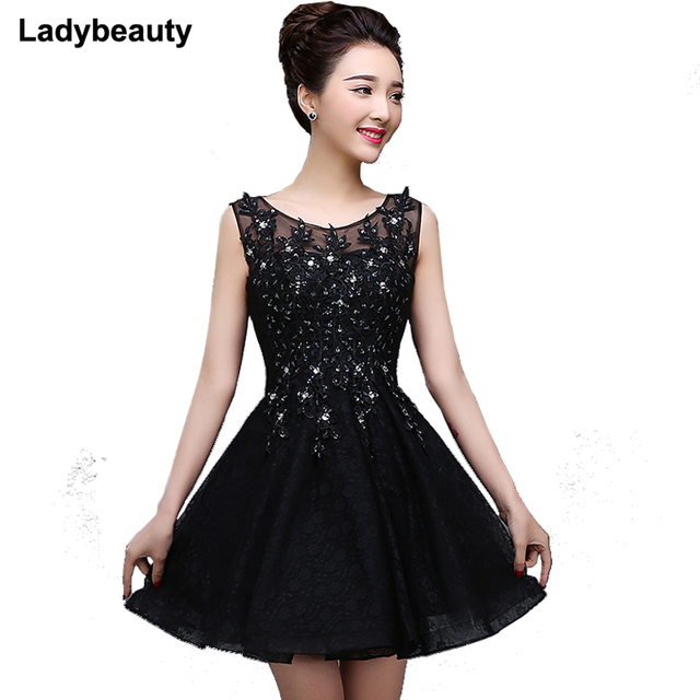 Womens Lace Cocktail Dress