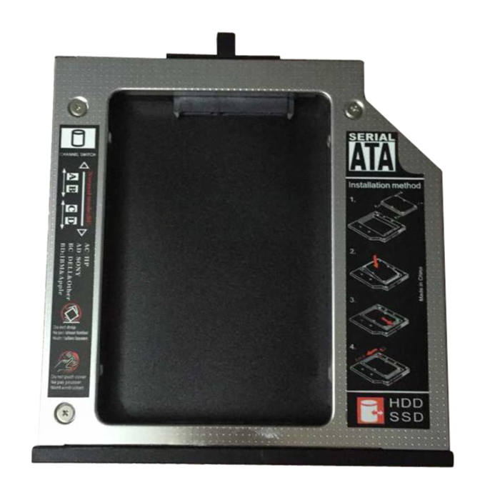 COTS-Hot Sale suitable for ThinkPad T510 T510i T520 T520i W520 HDD mounter 12.5mm thickness optical drive bay SATA connection