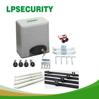 600KGS Sliding access gate motor Auto Close with 2 Transmitters 4m steel racks 1 pair of photocell - DISCOUNT ITEM  5% OFF All Category