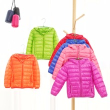 Children jacket Outerwear Boys Girls autumn Warm Down Hooded Coat Kids Warm Duck Down Jackets H278 цена 2017
