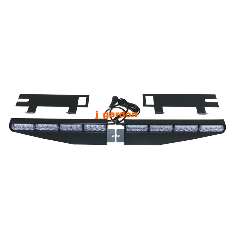 Vsled 2x 16 led exclusive split visor deck dashcar truck emergency vsled 2x 16 led exclusive split visor deck dashcar truck emergency beacon light bar hazard strobe warning strobe lightbar in signal lamp from automobiles aloadofball Image collections