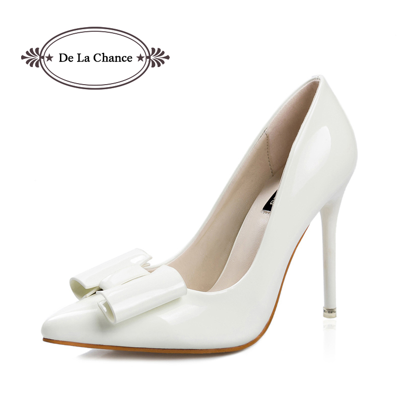 White Shoes For Women Heels - Qu Heel