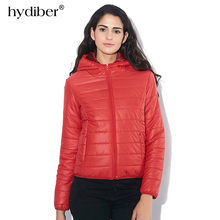 2017 Autumn Winter Fashion Women Basic Jacket Coat Female Slim Hooded Brand Cotton Coats Casual Black Jackets Women Tops