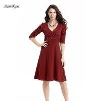 Women Dresses New Fashion 2015 Women Dresses Autumn Summer Celeb V Neck Half Sleeve Maxi Party