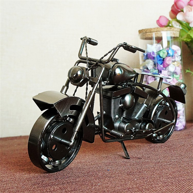 A large iron motorcycle model craft ornaments gift gift and M190 two color options