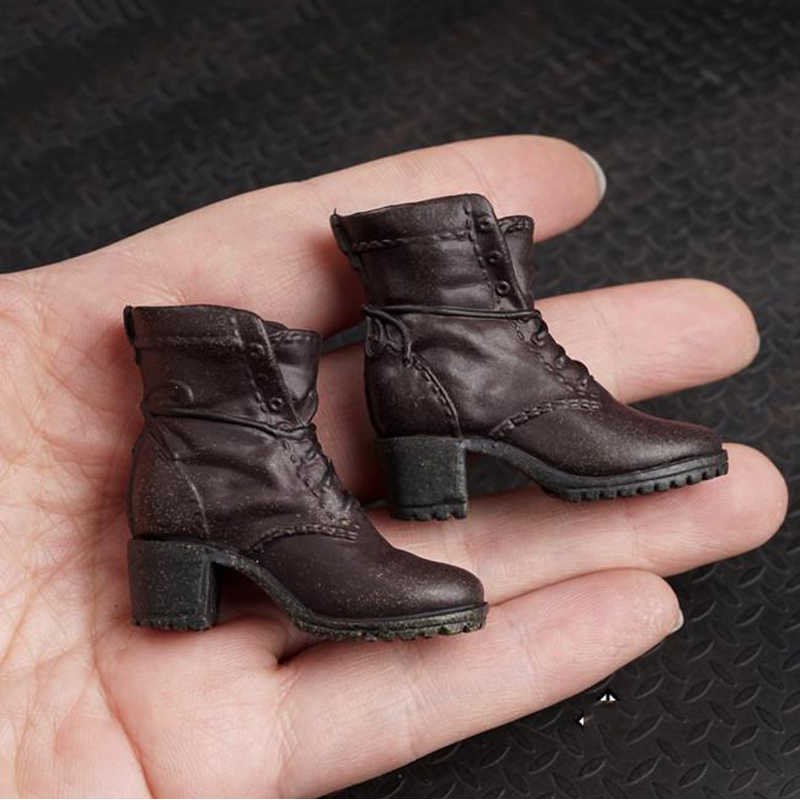 1/6 масштаб AS004 Алые туфли ведьмы сапоги модели для 12 дюймов фигурки аксессуары