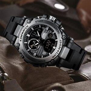 Image 5 - Relogio Masculino KDM Fashion Men Sport Watch 2019 Male LED Digital Quartz Wrist Watches Mens Top Brand Luxury Digital Watches