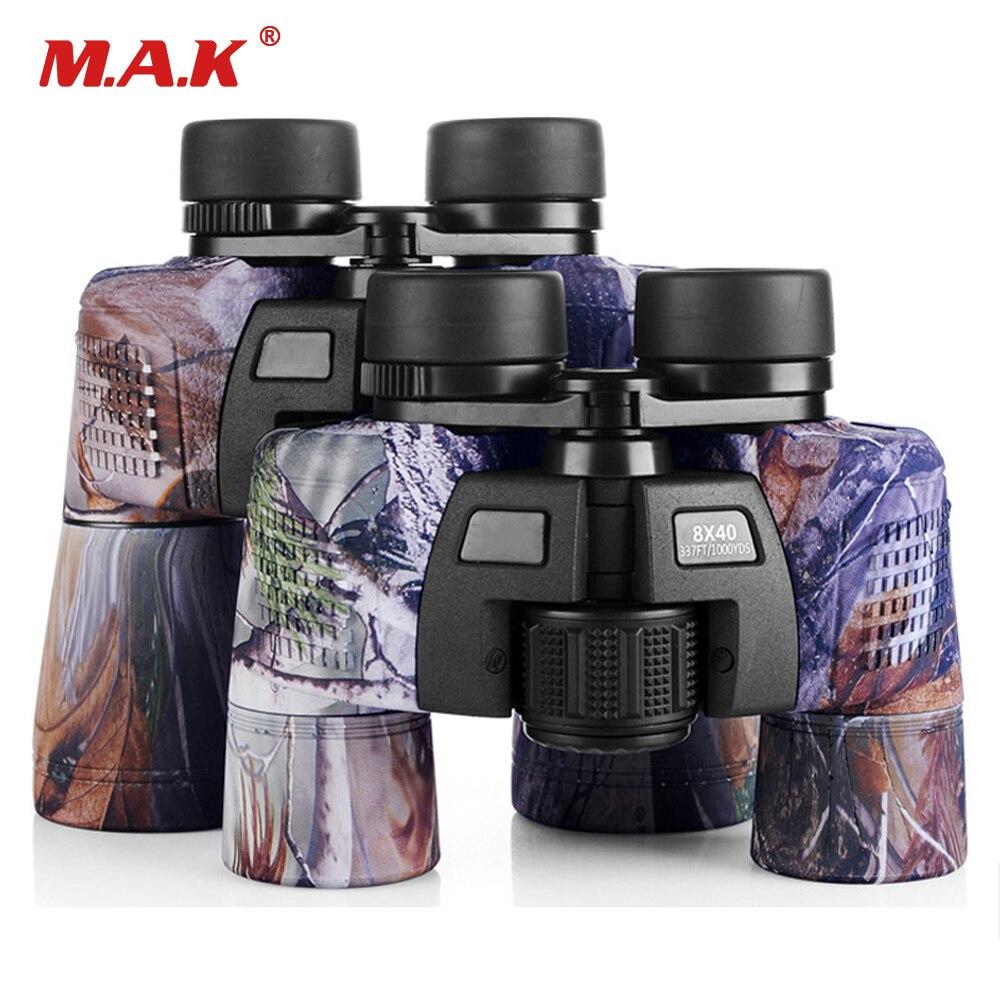 Télescope Camo militaire binoculaire 8x40/10x50 étanche FMC bleu Film enduit optique Len pour la chasse