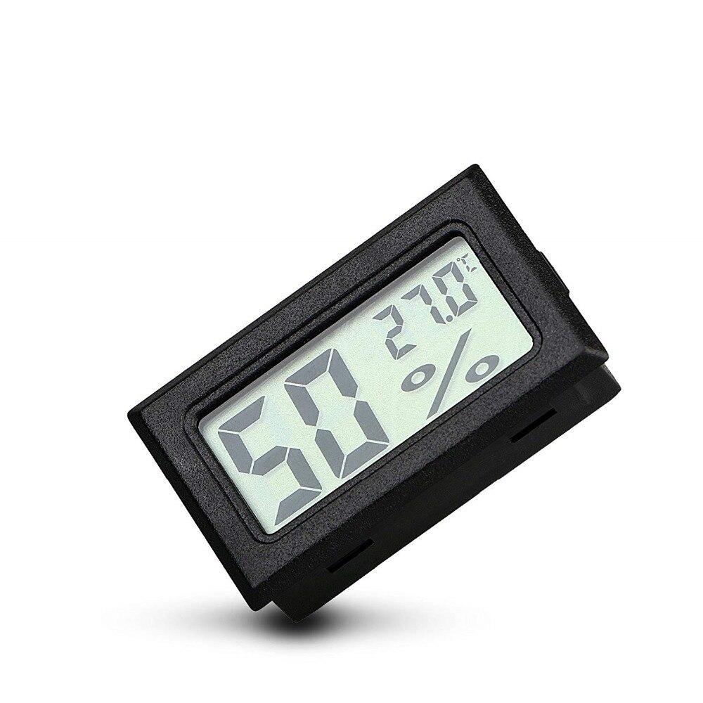 HTB1 QKyXLjsK1Rjy1Xaq6zispXai Mini Black Digital LCD Temperature Humidity Indoor Room Humidity Meter Thermometer Hygrometer Temperature Sensor Humidity