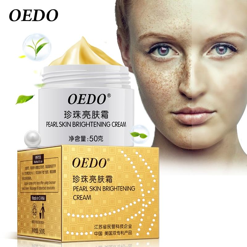 Anti Freckle Pearl Skin Brightening Cream Contiene medicina china Cuidado de la piel Doble patente de China y EE.UU.