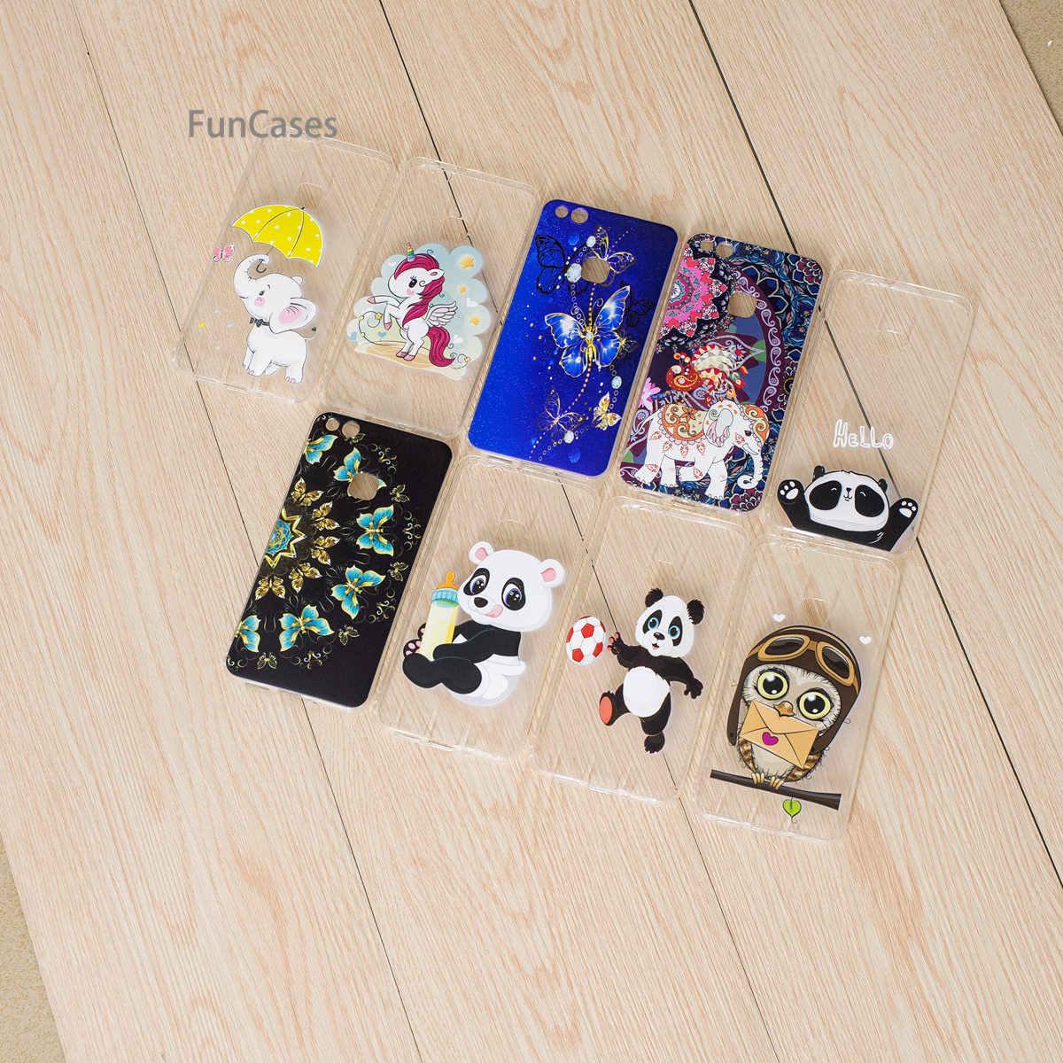 Bonjour Panda coque de téléphone pour Hoesje Huawei P10 Lite coque de téléphone en Silicone souple merveilleuse coque de téléphone Huawei Ascend Nova Lite