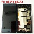Оригинальный IPS LCD для SONY Xperia XZ Премиум дисплей кодирующий преобразователь сенсорного экрана в сборе G8142 G8141 LCD с рамкой