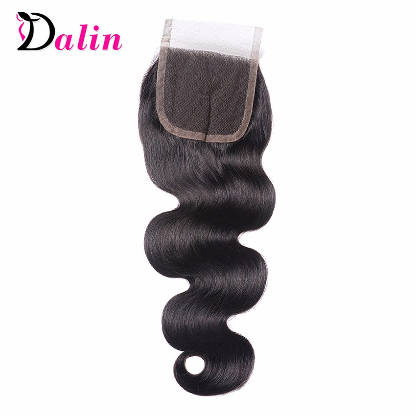7A Brazilian Virgin Hair Body Wave Lace Closure Mink Brazilian Hair With Closure Rosa Hair Products 44Inch Lace Frontal Closure 2