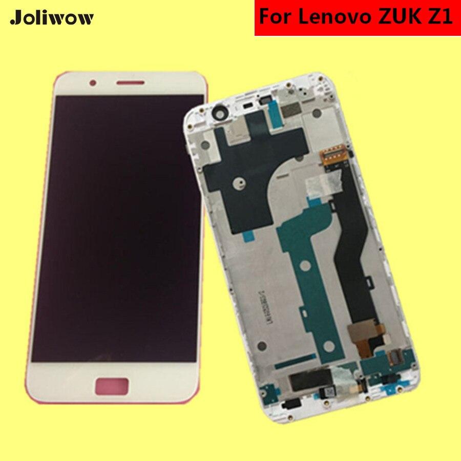 POUR Lenovo ZUK Z1 Z1221 LCD Affichage à L'écran Tactile Avec Cadre + Outils Digitizer Assemblée Remplacement Accessoires Pour Téléphone