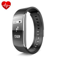 Caliente Iwown I6 PRO Bluetooth 4.0 Inteligente Banda Muñequera Heart Rate Monitor Deportes Muñequera Rastreador de Ejercicios para IOS Andriod Teléfono