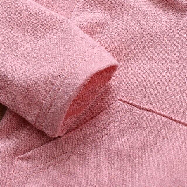 Infant Toddler Baby Girl Boys Hooded Sweatshirts Rabbit Ear Romper Cotton Bodysuit Hoodies 2