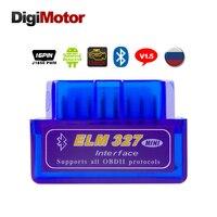 Code Reader Mini Elm327 Bluetooth OBD2 Scanner ELM 327 Obd 2 Bluetooth Smart Car Diagnostic Tool