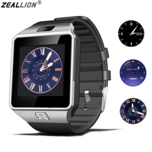 цены на ZEALLION DZ09 Smart Watch Sync Notifier Support Sim Card Bluetooth Connectivity For Android IOS Smartwatch PK GV18 GT08 Q18  в интернет-магазинах