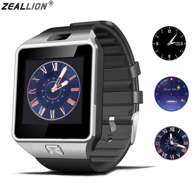 ZEALLION DZ09 Smart Watch in Sync Notifier Supporta Sim Card Connettività Bluetooth Per IOS Android Smartwatch PK GV18 GT08 Q18