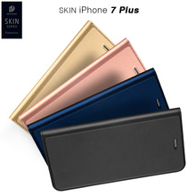 Superior Leisure Women Man Stand Wallet Flip Case PU + TPU Fashion Hit Color Card Slot Leather Cover For iPhone 7 6s Plus 5s SE