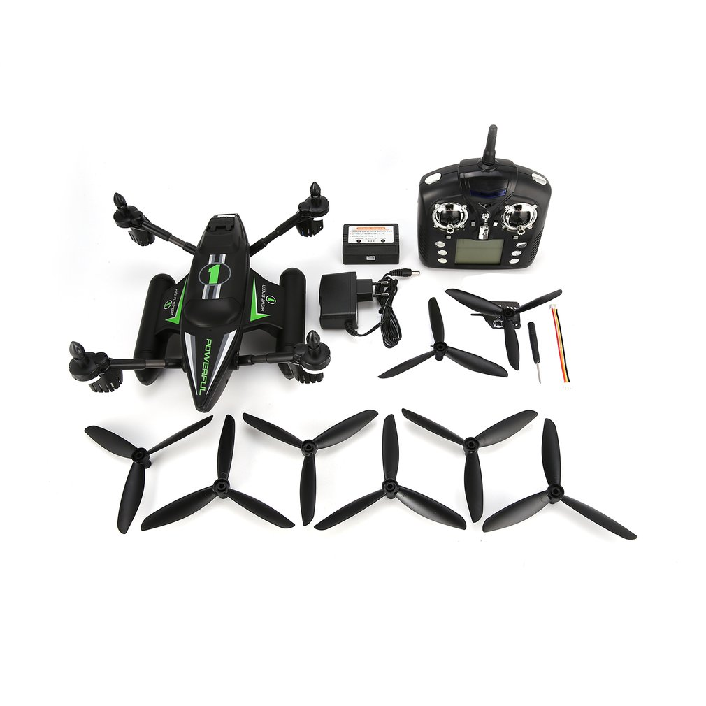 WLtoys Q353 3 in 1 Waterproof RC Quadcopter 2.4G Drone with Air Land Sea Mode Altitude Hold Headless Mode RTFWLtoys Q353 3 in 1 Waterproof RC Quadcopter 2.4G Drone with Air Land Sea Mode Altitude Hold Headless Mode RTF