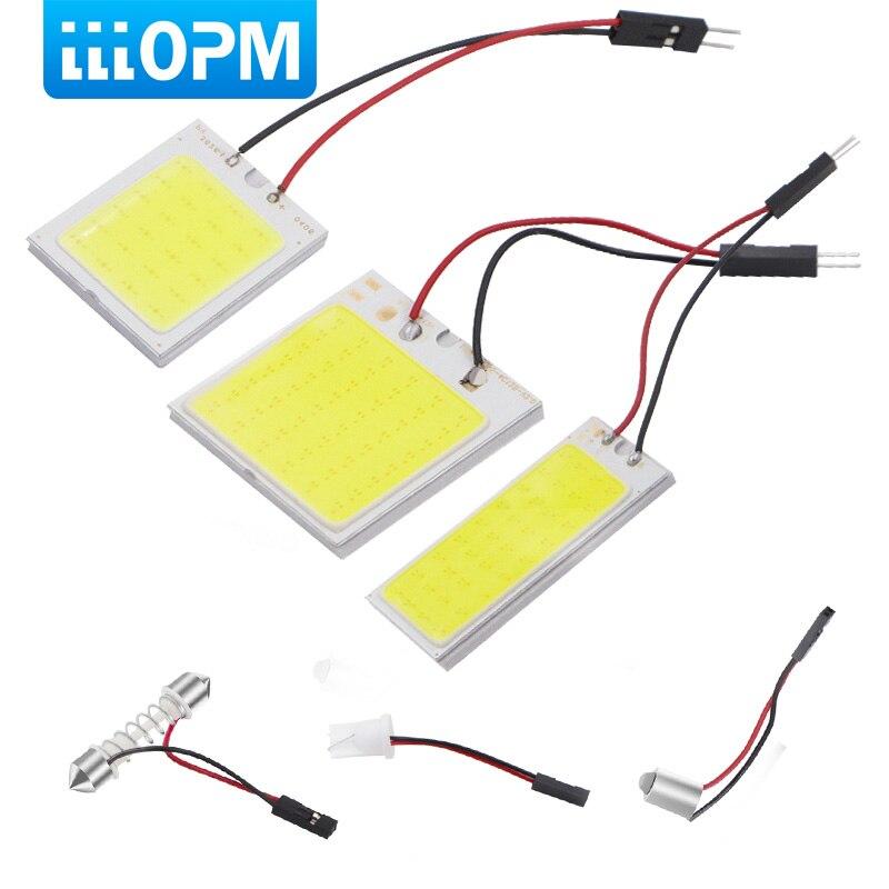 T10 W5W C5W гирлянда BA9S 3 адаптер 24 36 48 фишек УДАРА светодиодный Авто Панель свет лампы для чтения салона карта Купол лампы аксессуары