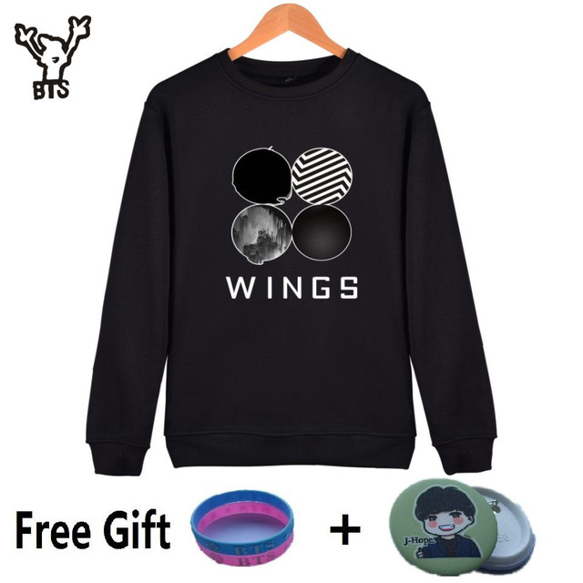 BTS WINGS Logo Sweatshirt