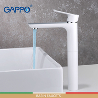 GAPPO Basin Faucets water tap mixer basin faucet bathroom faucets mixer waterfall white taps sink tap sink faucets