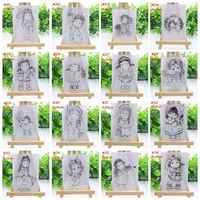 2019 nouvelles filles Transparent clair Silicone timbre/joint pour bricolage Scrapbooking Photo Album décoratif papier carte artisanat à la main cadeau