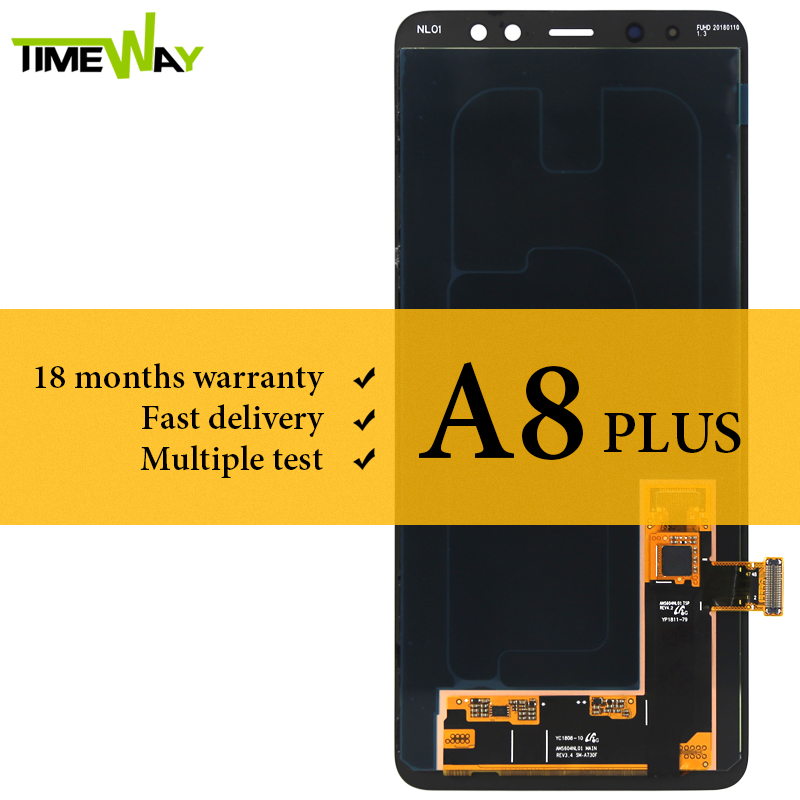 Grade LCD For Samsung A8 Plus 2018 LCD Dispaly Super AMOLED With Touch Screen Assembly For Samsung A730F A730X ScreenGrade LCD For Samsung A8 Plus 2018 LCD Dispaly Super AMOLED With Touch Screen Assembly For Samsung A730F A730X Screen