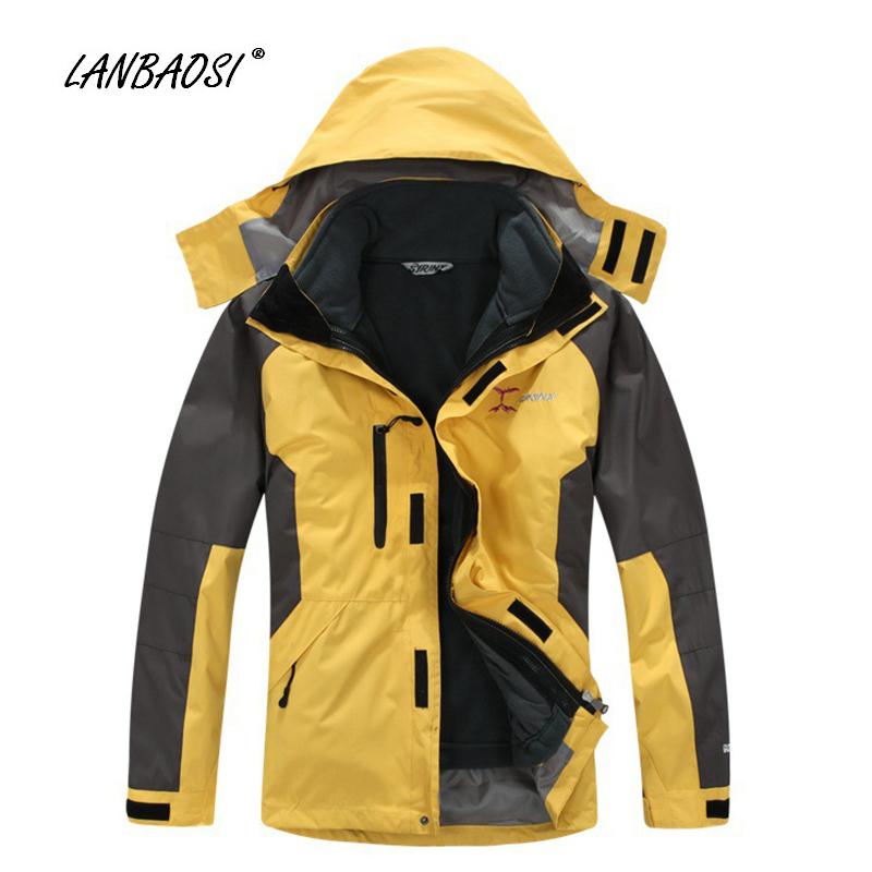 Windbreaker Jackets with Thermal Polar Fleece Liner for Men Outdoor Sports Hiking Climbing Camping Skiing Windproof Winter Coat все цены