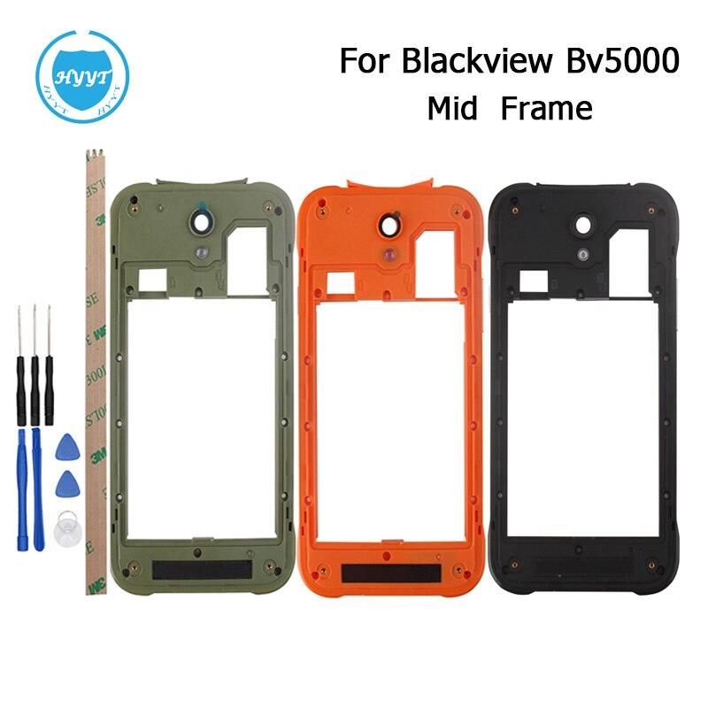 imágenes para Para Blackview BV5000 Marco Medio B Shell 100% de Calidad Superior Original de Teléfono Móvil a prueba de golpes Protector Frame Medio Envío Libre