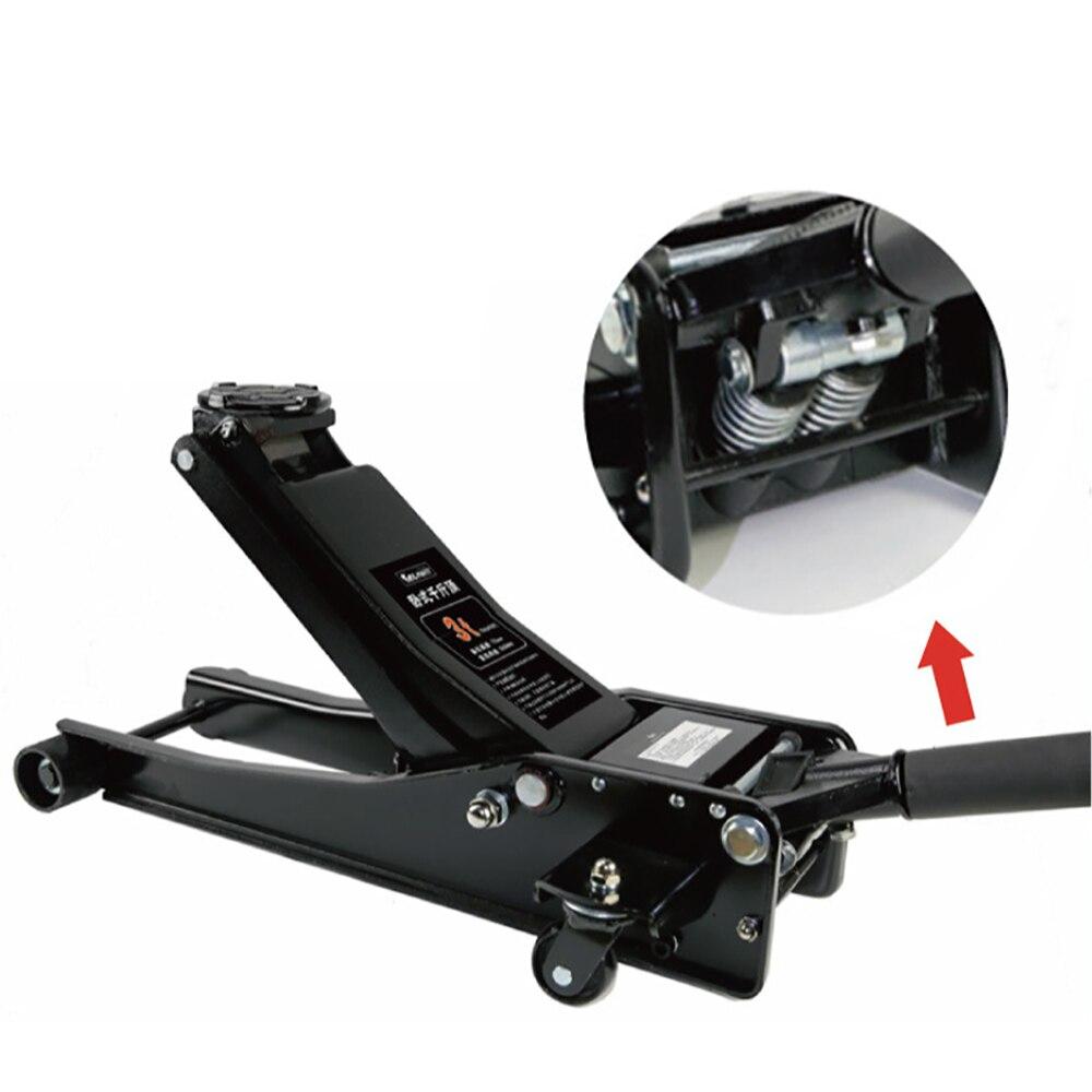 Outil de remplacement automatique de pneu de réparation de cric hydraulique Horizontal de voiture de 3 tonnes