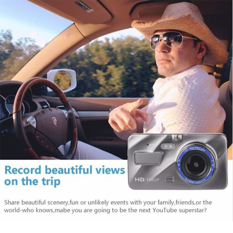 dash cam dual objektiv auto dvr kamera full hd 1080 p 4. Black Bedroom Furniture Sets. Home Design Ideas