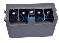 Imported Power Window Switch With Panel master switch door Glass Switch Fit For Chevrolet new sail 13 plug OEM:9005041