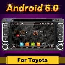 2 DIN 2 г 16 г 4 ядра 4 ядра Android 6.0 Автомобильный DVD USB WI-FI для Toyota Celica для Toyota MR2 для Toyota 4runner автомобиль Радио стерео