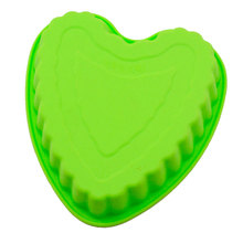 microwave oven special silicone cake love heart shape mold 6 inch bread baking mould DIY Soap Making Silicone Mold