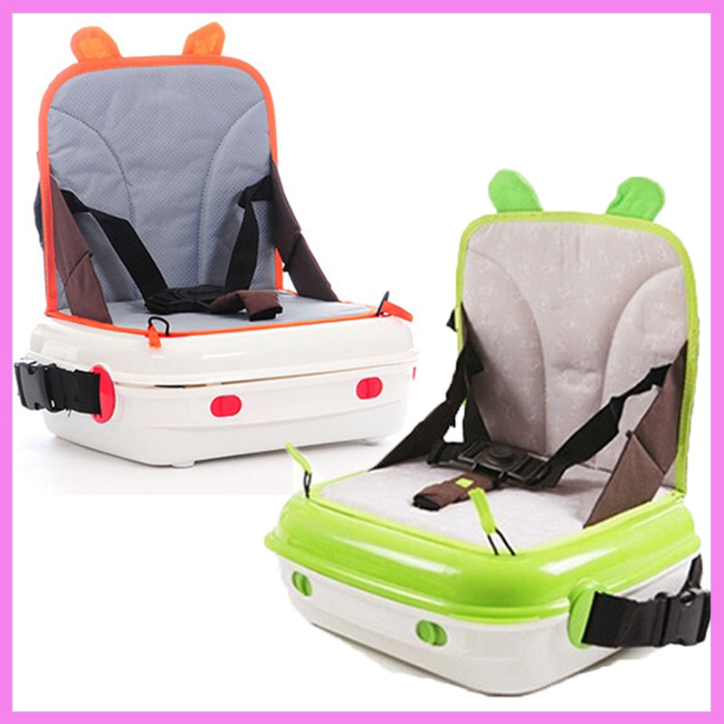 Multifunction Portable Baby Car Booster Seat Child Car Safety Seat Storage Box Waterproof Safety Chair Travel Portable Baby Seat portable child baby toddler car seat covers travel baby booster baby car safety seat chair assento de carro sillas auto bebes
