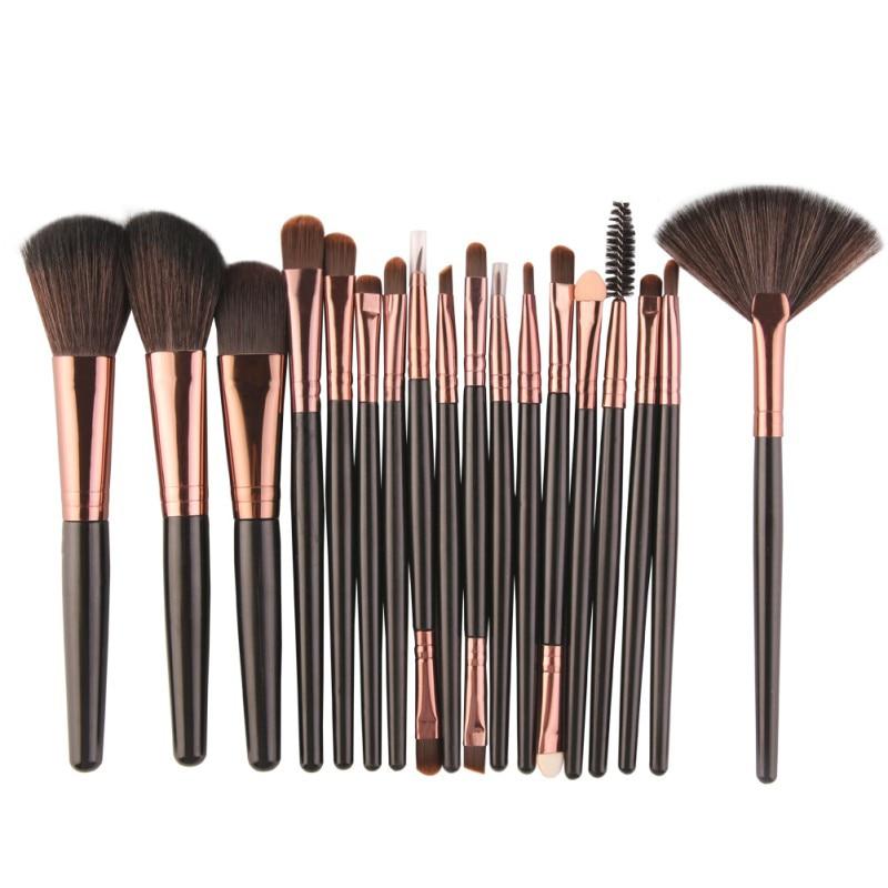 18pcs Premiuim Makeup brush set High Quality Soft Taklon Hair Professional Artist Brush Tool KitCosmetic