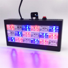 Mini Sound Control 18 RGB LED Strobe Sound Control For Party Club Disco voice music Stage Lighting Projector Club Bar 110V 220V
