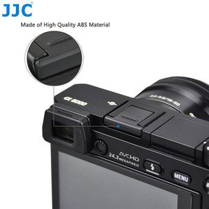 Image 2 - JJC Camera Giày Nóng Bao Da Nắp Cho Sony A7C A7S III ZV1 A7RIV A7III A6600 A6100 A6300 A6500 A6000 A99II a9II A7 Thay Thế Cho FA SHC1M
