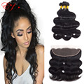 New Star Malaysian Body Wave With Closure 4 Bundles Malaysian Virgin Hair Body Wave With Closure 8A Grade Unprocessed Human Hair