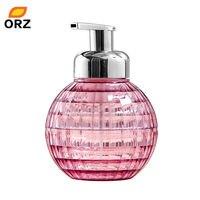 ОРЗ 500 мл Запасные бутылочки Акрил мусс шампунь лосьон крем для рук умывания Пенясь насоса бутылки Ванная комната хранения jar