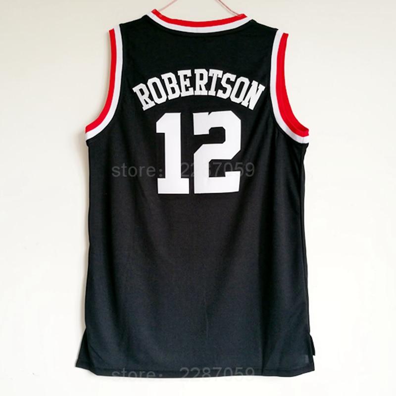half off 4156b 55c03 Ediwallen 2018 College 12 Oscar Robertson Jersey Men Black Basketball  Cincinnati Bearcats Jerseys Uniforms Sports Free Shipping-in Basketball  Jerseys ...